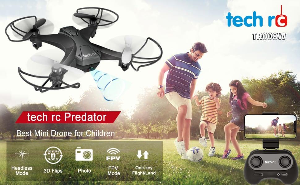 Tech RC Mini Drone con camara
