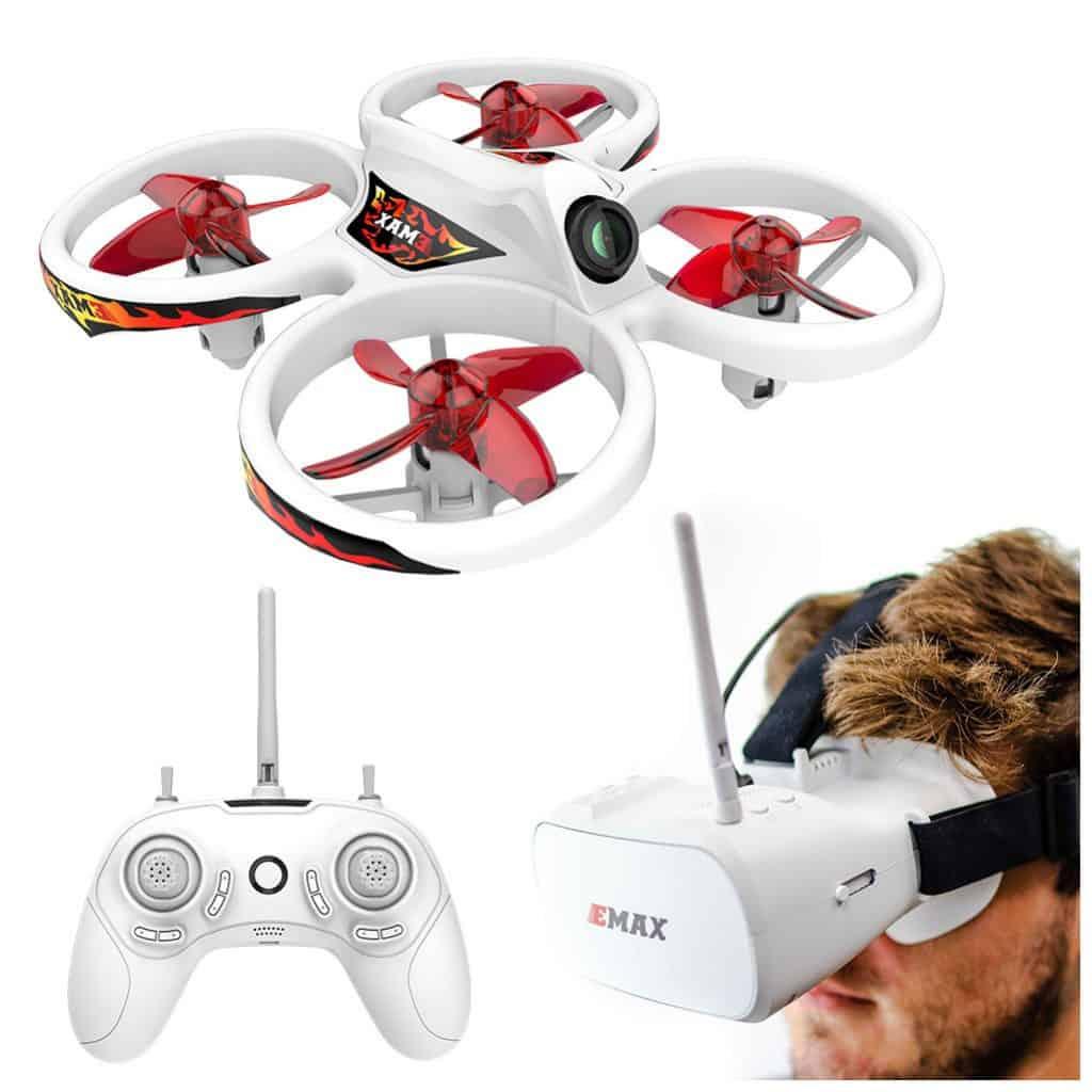 mini drones con camara fpv y gafas
