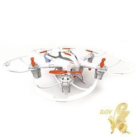 ILov-Yizhan-i6s-Mini-Helicopter-Drone-24G-RC-Hexacopter-with-6-Axis-Gyro-3D-Roll-20MP-Camera-Pack-1-Blanco-0