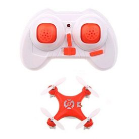 PIXNOR-Cheerson-CX-10-24GHz-4CH-giroscopio-de-6-ejes-Quadcopter-RC-Super-Mini-UFO-Drone-RTF-con-luces-LED-color-naranja-0-3