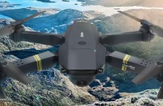 Eachine E58 Dronex pro: El clónico del DJI Mavic Pro