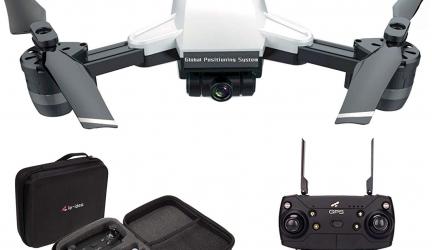 IDEA10 con cámara 1080p, GPS y plegable