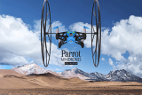 Parrot Rolling Spider controlado desde iphone o android