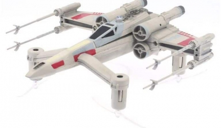 Drones Star Wars; SPEEDER BIKE, X-WING  y TIE ADVANCED X1